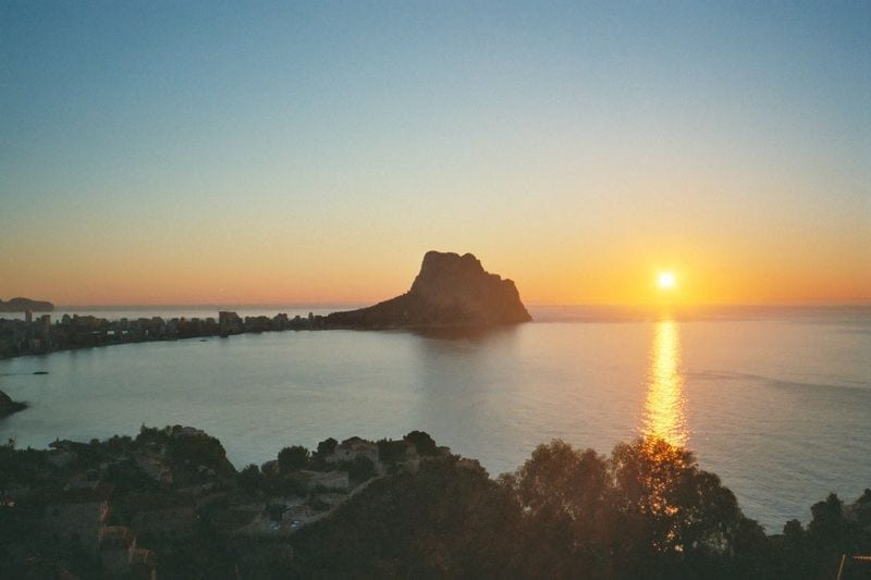 Image to cycling paradise Calpe