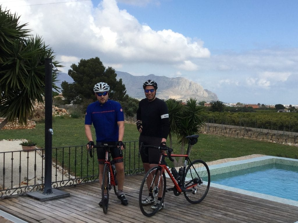 Image to:cycling friends Costa Blanca