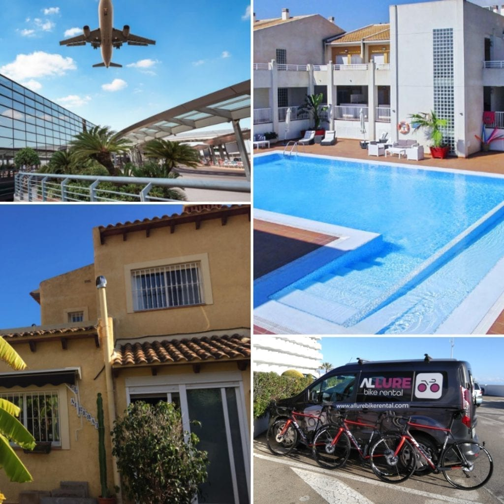 Image to package deal guided bike rides and hire Costa Blanca
