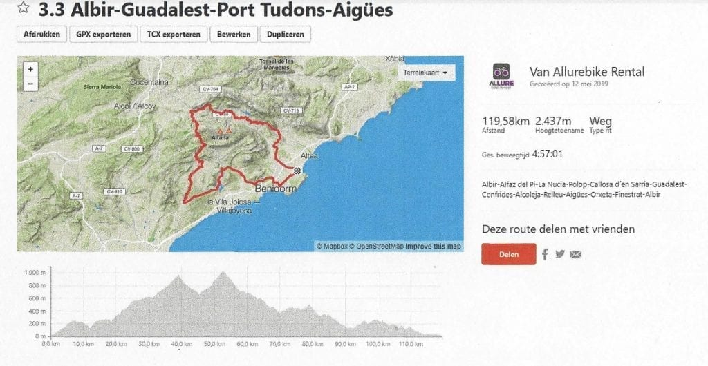 Image to: strava cycling route Port Tudons