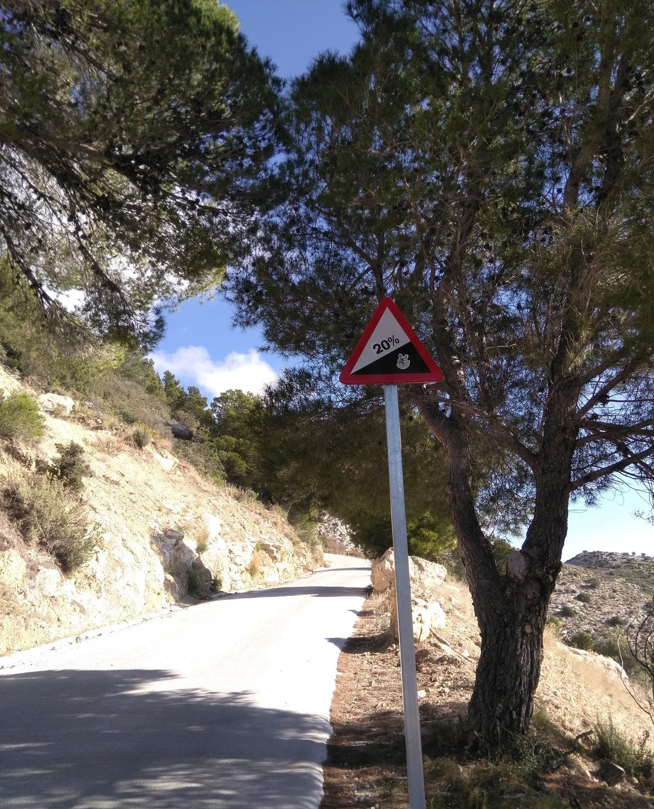 Image to Sierra Bernia 20% climb