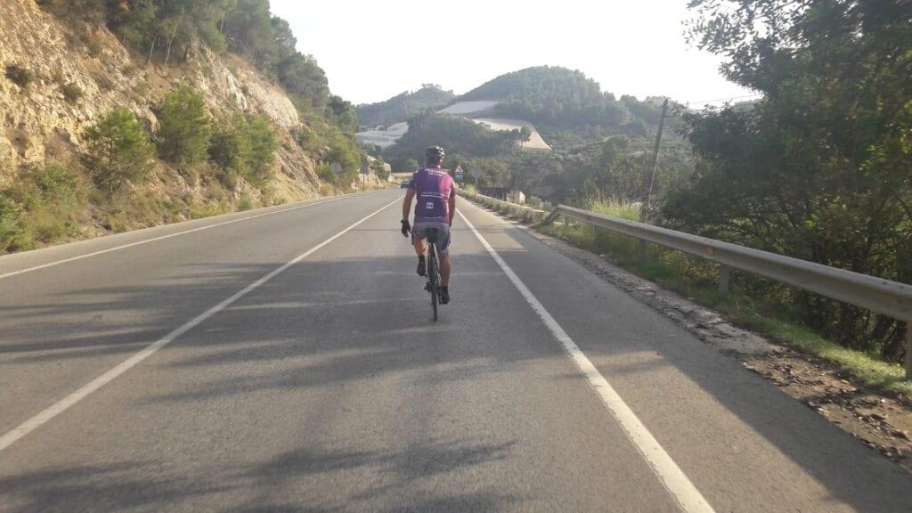 Costa Blanca eine Einführung mit dem Fahrrad